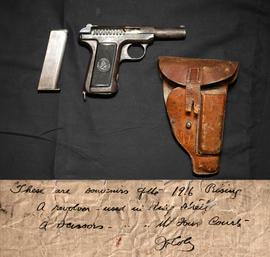 Savage Model 1907 Pistol and Holster