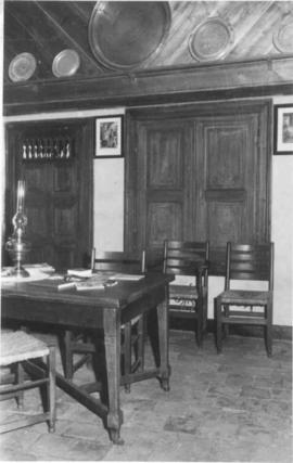 Interior of birthplace