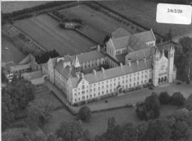 Aerial photo with 1938 additions
